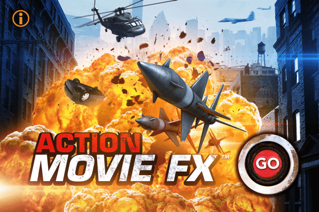 5 new effects in Action Movie iOS app