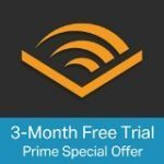 Amazon Prime Audible Free 90 day trial