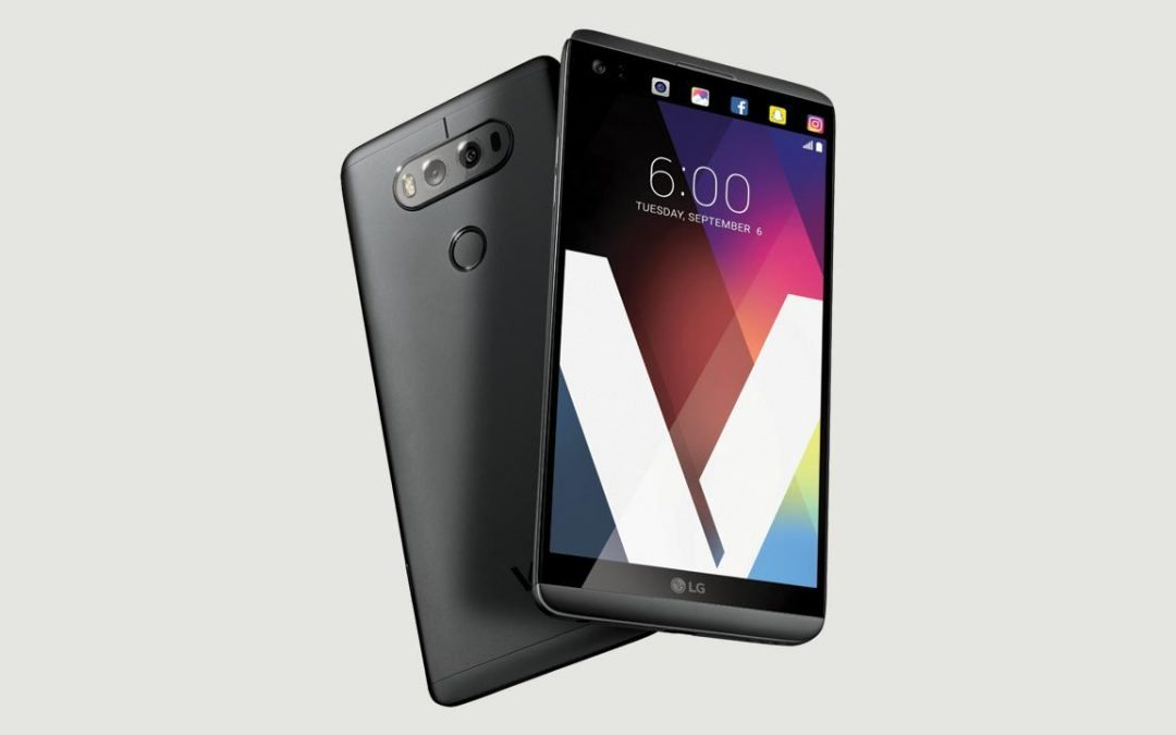 The LG V20: Now available on Verizon