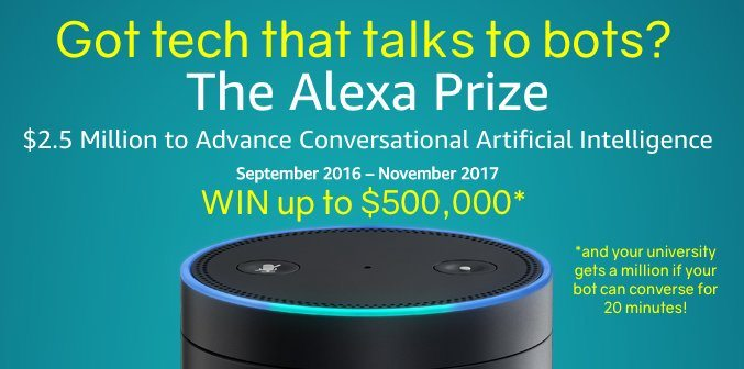 Amazon Selects Teams to Participate in the Inaugural Alexa Prize Competition